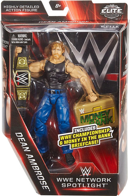 WWE Wrestling Elite Network Spotlight Dean Ambrose Exclusive Action Figure [WWE Championship & Money in the Bank]