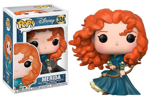 Funko Brave POP! Disney Merida Vinyl Figure #324 [New Version]
