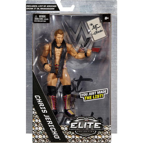 WWE Wrestling Elite Collection Chris Jericho Exclusive Action Figure [You Just Made The List!]
