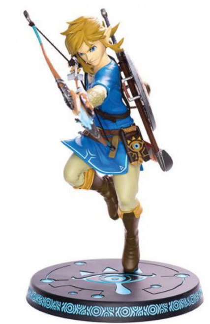 Legend of Zelda Breath of the Wild Link 10-Inch Statue