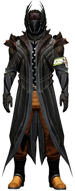 McFarlane Toys Destiny Kings Fall Warlock Hallow Shader Exclusive Action Figure [Light Beyond Nemesis Helmet]