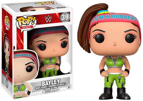 Funko WWE Wrestling POP! Sports Bayley Exclusive Vinyl Figure #39 [Damaged Package]