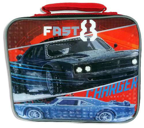The Fast and the Furious F8 Fast and Furious 8 Lunch Tote