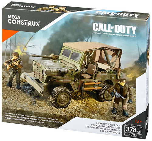 Call of Duty Infantry Scout Car Set