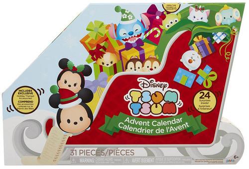 Disney Tsum Tsum 2017 Advent Calendar Set [Sleigh]