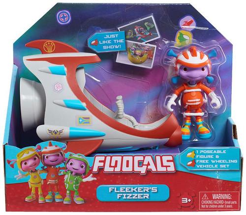 Floogals Fleeker's Fizzer Vehicle & Figure