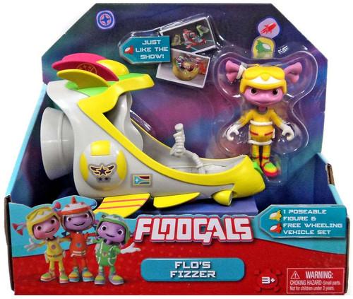 Floogals Flo's Fizzer Vehicle & Figure