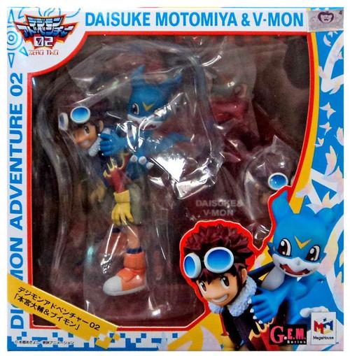 Digimon GEM Series Daisuke Motomiya & V-Mon PVC Figure [Digimon Adventure 2]