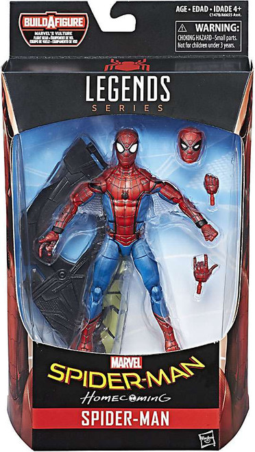 Marvel Legends Vulture Flight Gear Series Spider-Man Action Figure [Homecoming, Damaged Package / Sticker Residue]