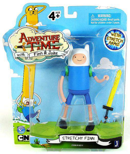 Adventure Time Finn Action Figure [Stretchy, Damaged Package]