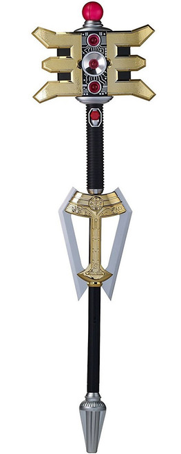 Power Rangers Legacy Zeo Golden Power Staff Roleplay Toy