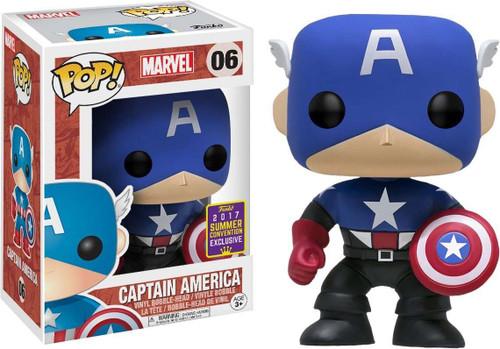 Funko Captain America The First Avenger POP! Marvel Captain America Exclusive Vinyl Bobble Head #06 [Bucky Barnes]
