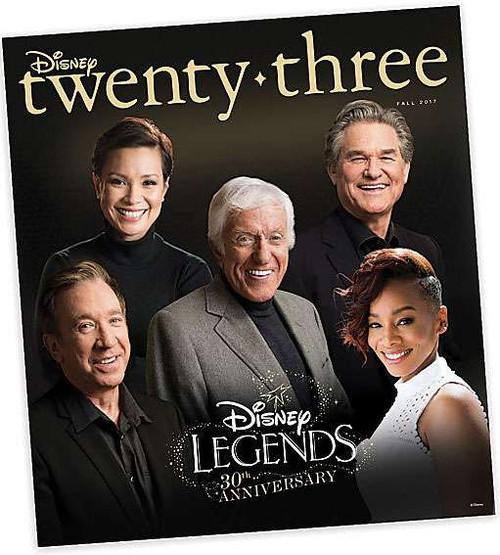Disney Twenty Three Magazine [Disney Legends 30th Anniversary]