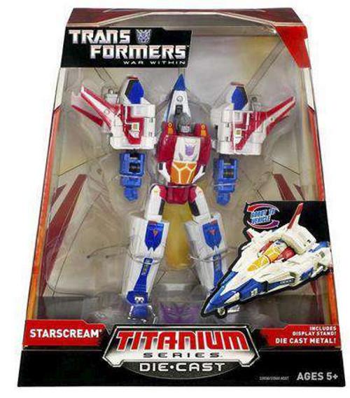 """Transformers War Within TItanium Series Starscream 6-Inch 6"""" Diecast Figure [Damaged Package]"""