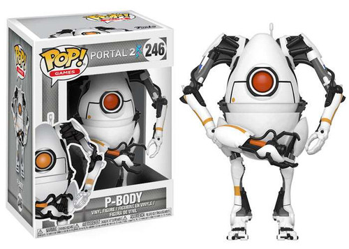 Funko Portal POP! Video Games P-Body Vinyl Figure #246
