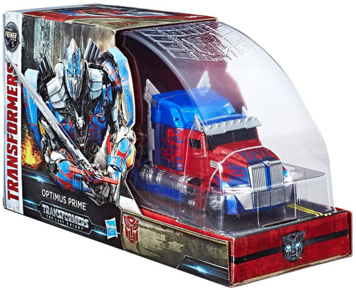Transformers The Last Knight Optimus Prime Exclusive Voyager Action Figure
