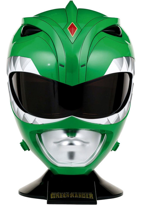 Power Rangers Mighty Morphin Legacy Green Ranger Helmet [Full Scale]