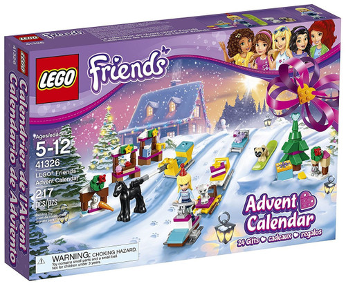 LEGO Friends 2017 Advent Calendar Set #41326