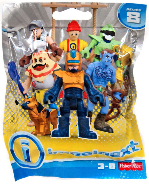Fisher Price Imaginext Series 8 Collectible Figure Mystery Pack