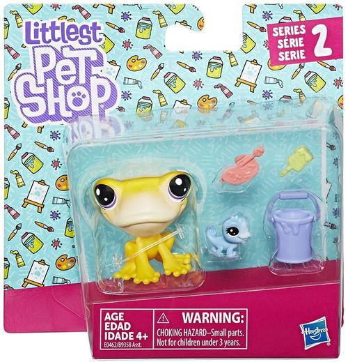 Littlest Pet Shop 2017 Pet Pairs Frog Figure 2-Pack