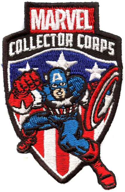 Funko Marvel Collector Corps Captain America Exclusive Patch