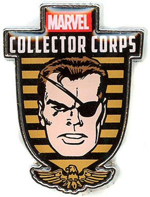 Funko Marvel Collector Corps Nick Fury Exclusive Pin