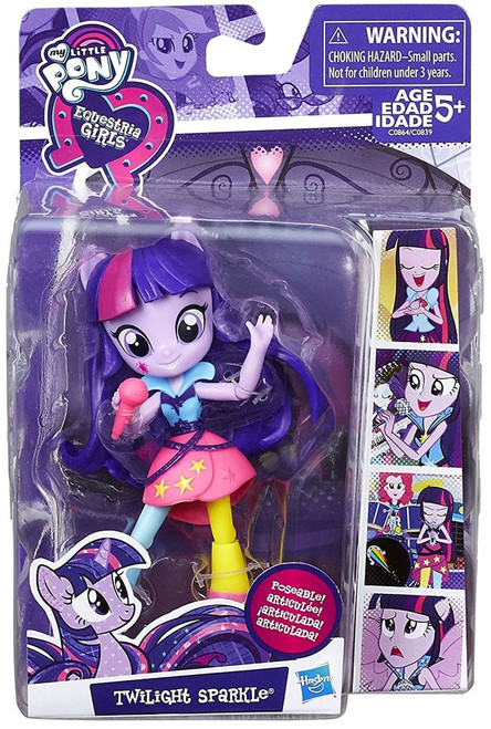 My Little Pony Equestria Girls Minis Twilight Sparkle 4.5-Inch Doll [Version 2]