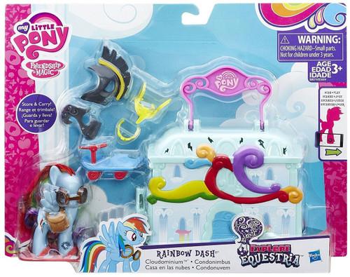 My Little Pony Friendship is Magic Explore Equestria Rainbow Dash Cloudominium Playset