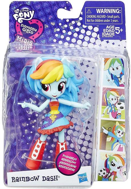 My Little Pony Equestria Girls Minis School Dance Rainbow Dash 4.5-Inch Figure