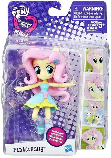My Little Pony Equestria Girls Minis School Dance Fluttershy 4.5-Inch Figure