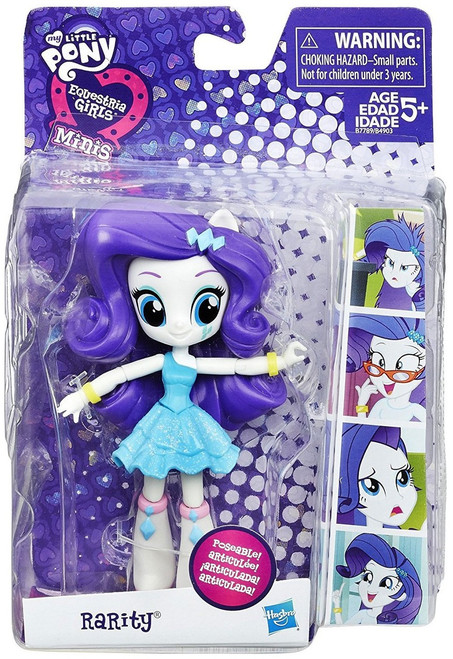 My Little Pony Equestria Girls Minis School Dance Rarity 4.5-Inch Figure