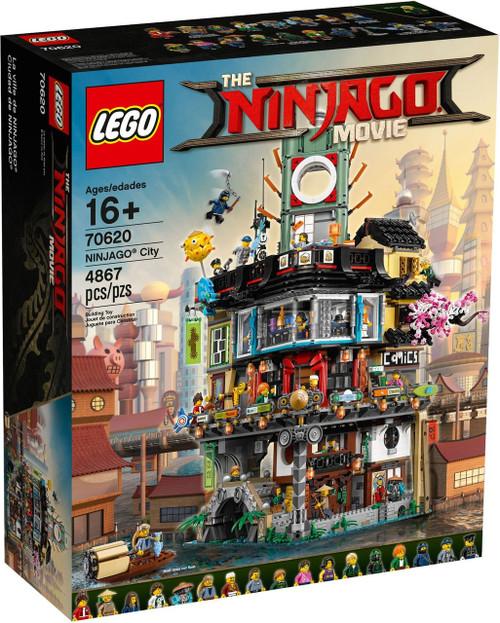 LEGO The Ninjago Movie Ninjago City #70620