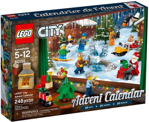 LEGO City 2017 Advent Calendar Set #60155