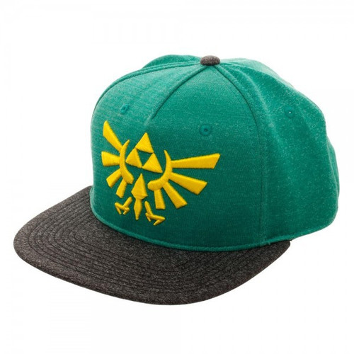 The Legend of Zelda Breath of the Wild Zelda Embroidered Polyester Snapback Cap Apparel