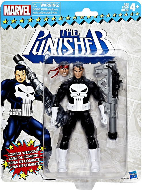 Marvel Legends Vintage (Retro) Series 1 The Punisher Action Figure