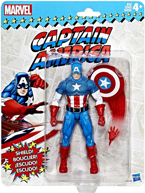 Marvel Legends Vintage (Retro) Series 1 Captain America Action Figure