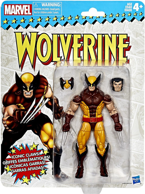 Marvel Legends Vintage (Retro) Series 1 Wolverine Action Figure