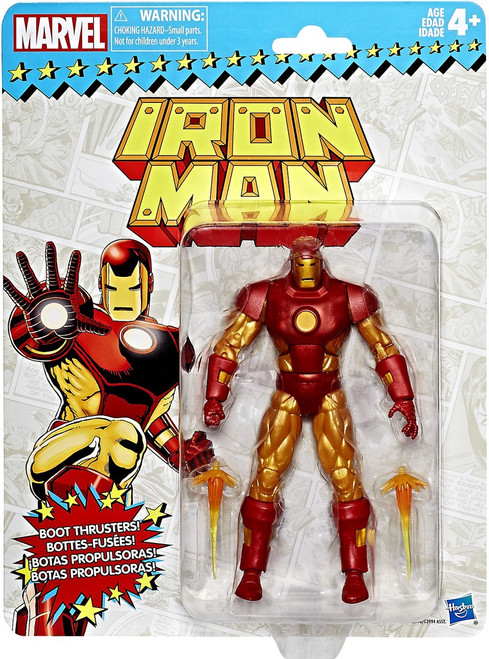 Marvel Legends Vintage (Retro) Series 1 Iron Man Action Figure