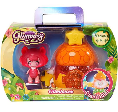 Glimmies Orange Glimhouse & Pink Glimmie Figure Set