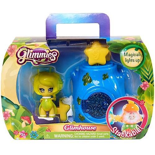 Glimmies Blue Glimhouse & Yellow Glimmie Figure Set