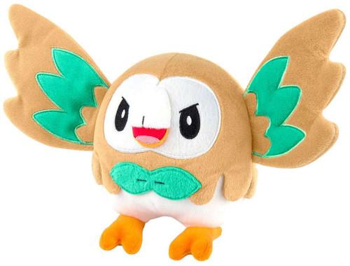 Pokemon Rowlet 8-Inch Plush [Wings Open]