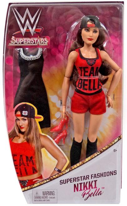 WWE Wrestling Superstars Fashions Nikki Bella 12-Inch Doll