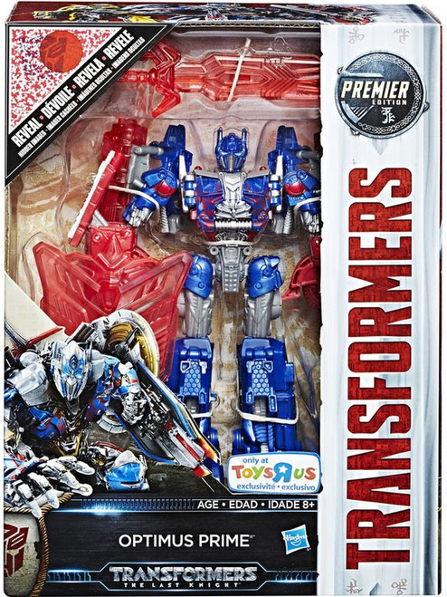 Transformers The Last Knight Optimus Prime Exclusive Voyager Action Figure [Premier Edition]