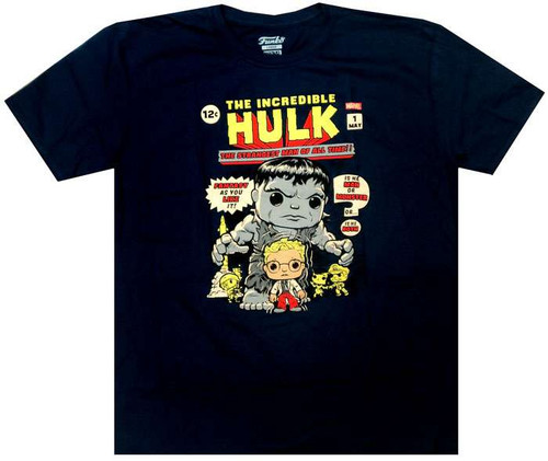 Funko Marvel Collector Corps Hulk 1st Appearance Exclusive T-Shirt [2X-Large]