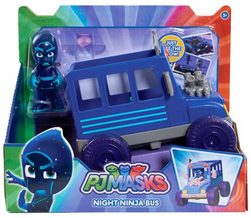 Disney Junior PJ Masks Night Ninja Bus Vehicle & Figure [Version 1]