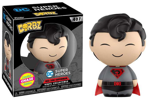 Funko DC Super Heroes Dorbz Superman Vinyl Figure [Red Son Chase Version]
