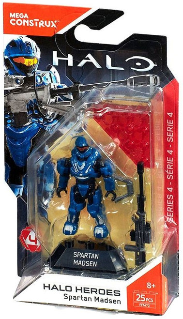 Halo Heroes Series 4 Spartan Madsen Mini Figure