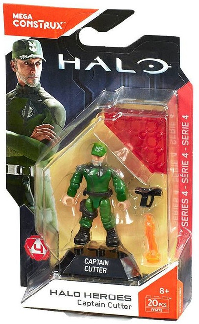 Halo Heroes Series 4 Captain Cutter Mini Figure
