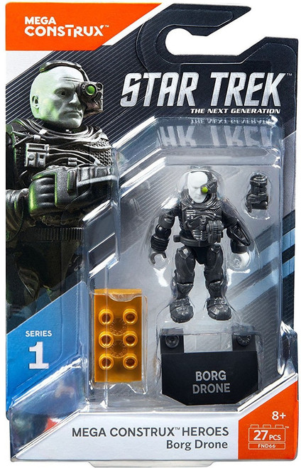 Star Trek Heroes Series 1 Borg Drone Mini Figure