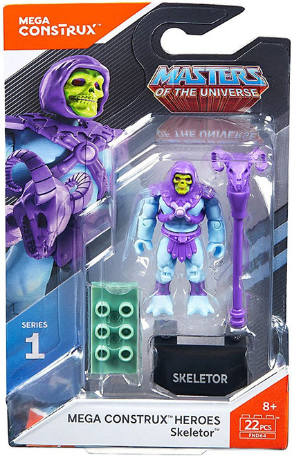 Mega Construx Masters of the Universe Heroes Series 1 Skeletor Mini Figure